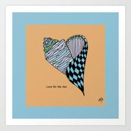 Love for the Sea Art Print