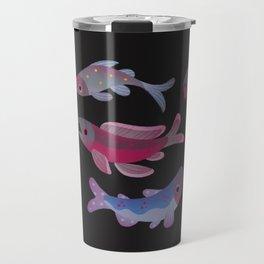 Salmon - dark Travel Mug