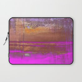 Pink Color Patches Laptop Sleeve