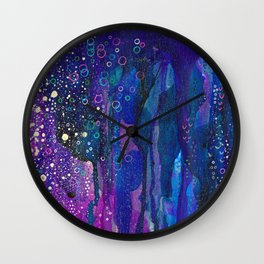 Expressionism Painting Ultra HD Wall Clock