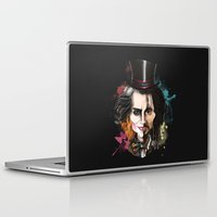 johnny depp Laptop & iPad Skins featuring Johnny Depp by Owen Ballesteros