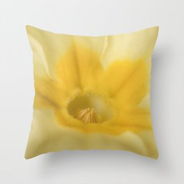 Spring Primrose Throw Pillow
