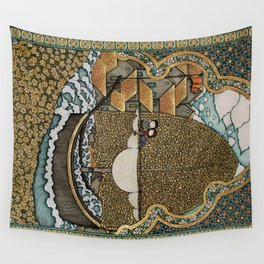Taking on Water Wall Tapestry