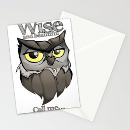 OWL! Wise and beautiful Stationery Cards