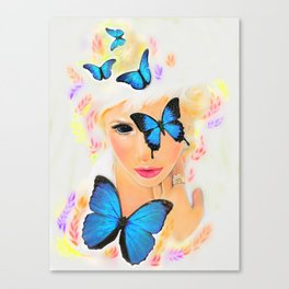 Fluttery 1 Canvas Print