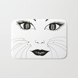What part of MEOW don't you understand? Bath Mat
