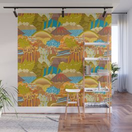 Rock Formations Wall Mural