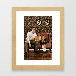 Single Dad. Framed Art Print