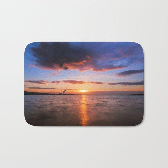 Beautiful Sundown II - #Society6 Bath Mat