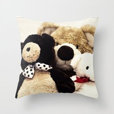 Bearily Bearily Throw Pillow