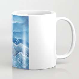 Swim the storm Coffee Mug