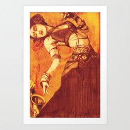 danza3 by nicolas Perruche Art Print