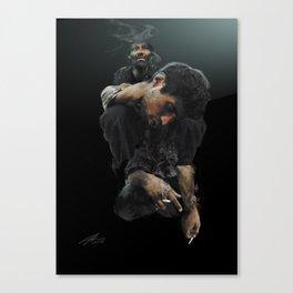 Heavy Shoulders Canvas Print