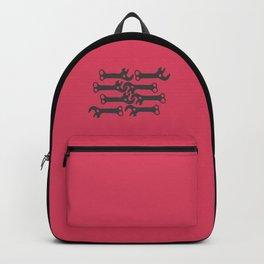 key! fuschia Backpack