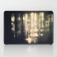 fireflies iPad Cases featuring Fireflies by Dzonatans Jansevics