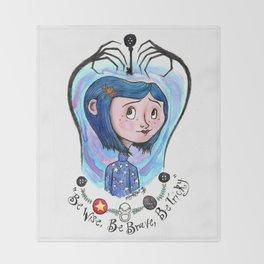 Coraline Jones Throw Blanket