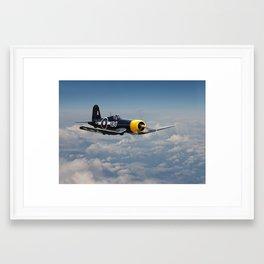 Vought F4U - Corsair Framed Art Print