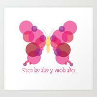 palo alto Art Prints featuring Vuela alto! by Golosinavisual