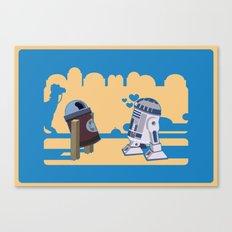 I fell in love in Tatooine Canvas Print
