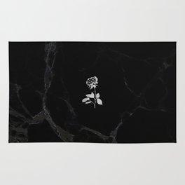 Forever Petal (Black Silver) Rug