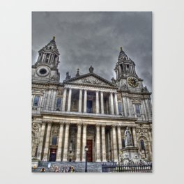 St. Paul's Cathedral, London Canvas Print