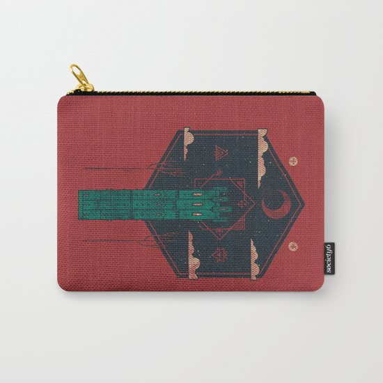 The Crimson Tower Carry-All Pouch