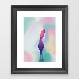 t e s t a d i c a l a m a r o Framed Art Print