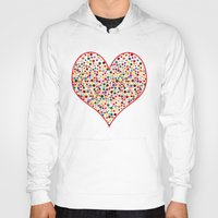 dot Hoodies featuring Dot... by DesignsByMarly