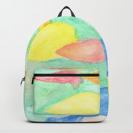 Blue Girl's Dreaming Bubbles Backpack
