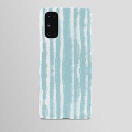 Shibori Stripe Seafoam Android Case