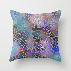 Floral Abstract 5 Throw Pillow