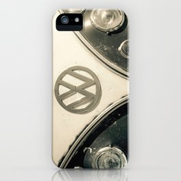 Classic Hipster Van, Photo, Black and White iPhone Case