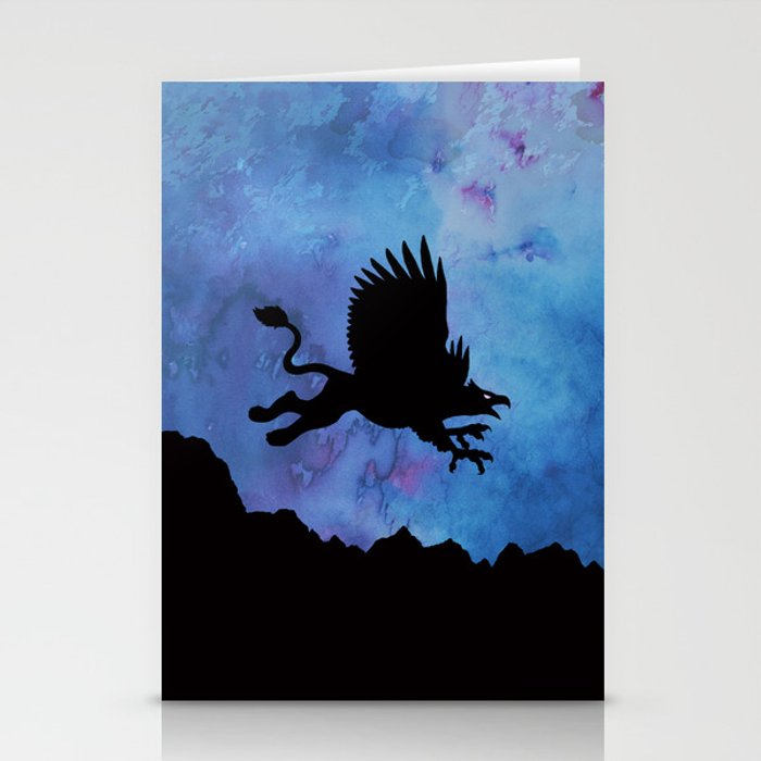 Gryphon Stationery Cards