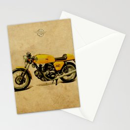 750 GT 1973 classic motorcycle Stationery Cards