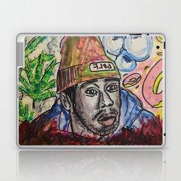 tyler,rapper,colourful,colorful,poster,wall art,fan art,music,hiphop,rap,legend,shirt,print Laptop & iPad Skin