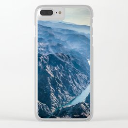 Grand Canyon and Colorado river Clear iPhone Case