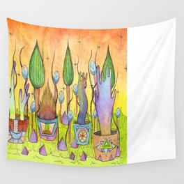 Dream Garden 1 Wall Tapestry