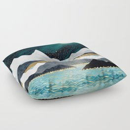 Ocean Stars Floor Pillow