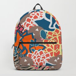 Succulents crowd Backpack