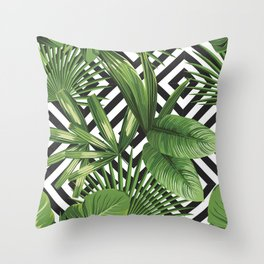 LEAVE NOW Throw Pillow