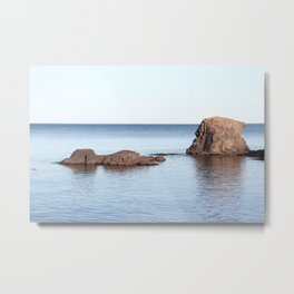 A Calm in Lake Superior Metal Print