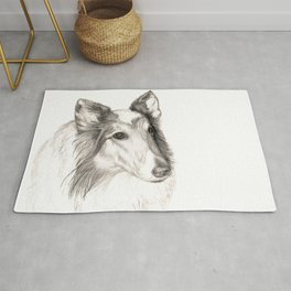 Remembering Maggie :: A Tribute to a Collie Rug