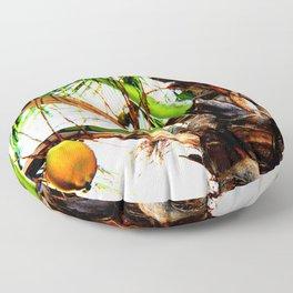 Artsy Coconuts Floor Pillow