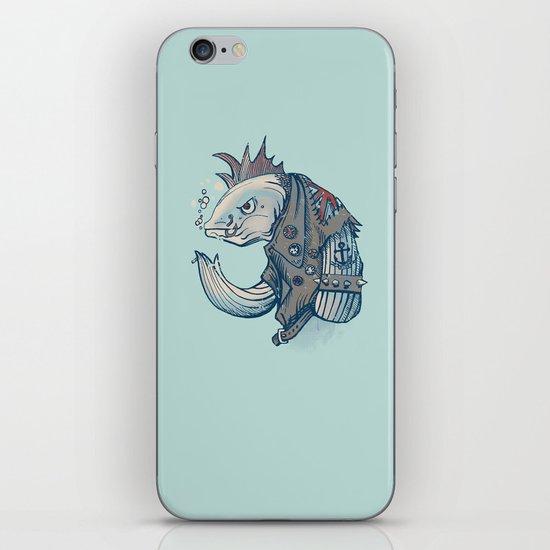 Punk Fish iPhone & iPod Skin