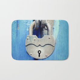 Unlock my fears Bath Mat