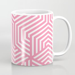 Tickle Me Pink - pink - Minimal Vector Seamless Pattern Coffee Mug