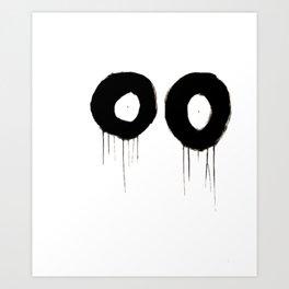 Lack o' Sleep Art Print