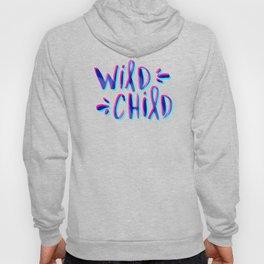 Wild Child – Magenta & Cyan Palette Hoody