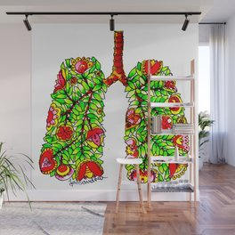 Lungs of the Earth Anatomy Wall Mural
