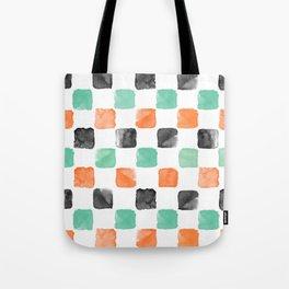 Watercoloured Chess Tote Bag
